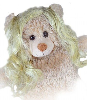 "Long Wavy Blonde Wig - 16"" bears"